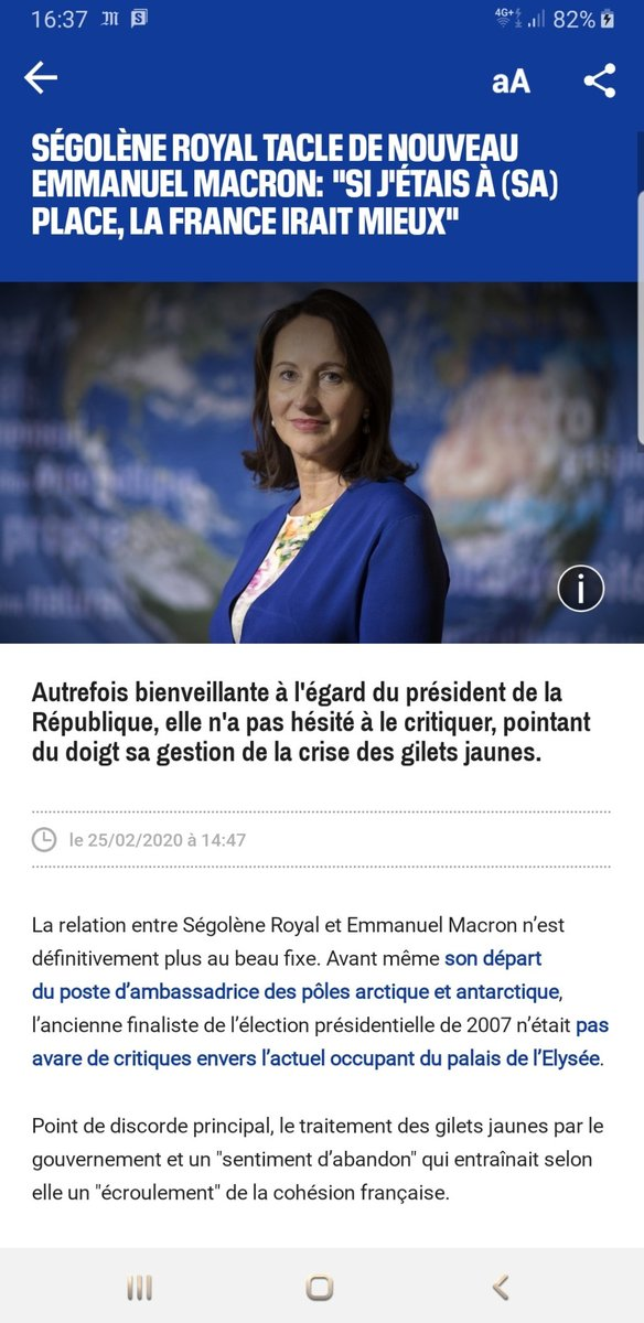 Ségolène Royal Photo