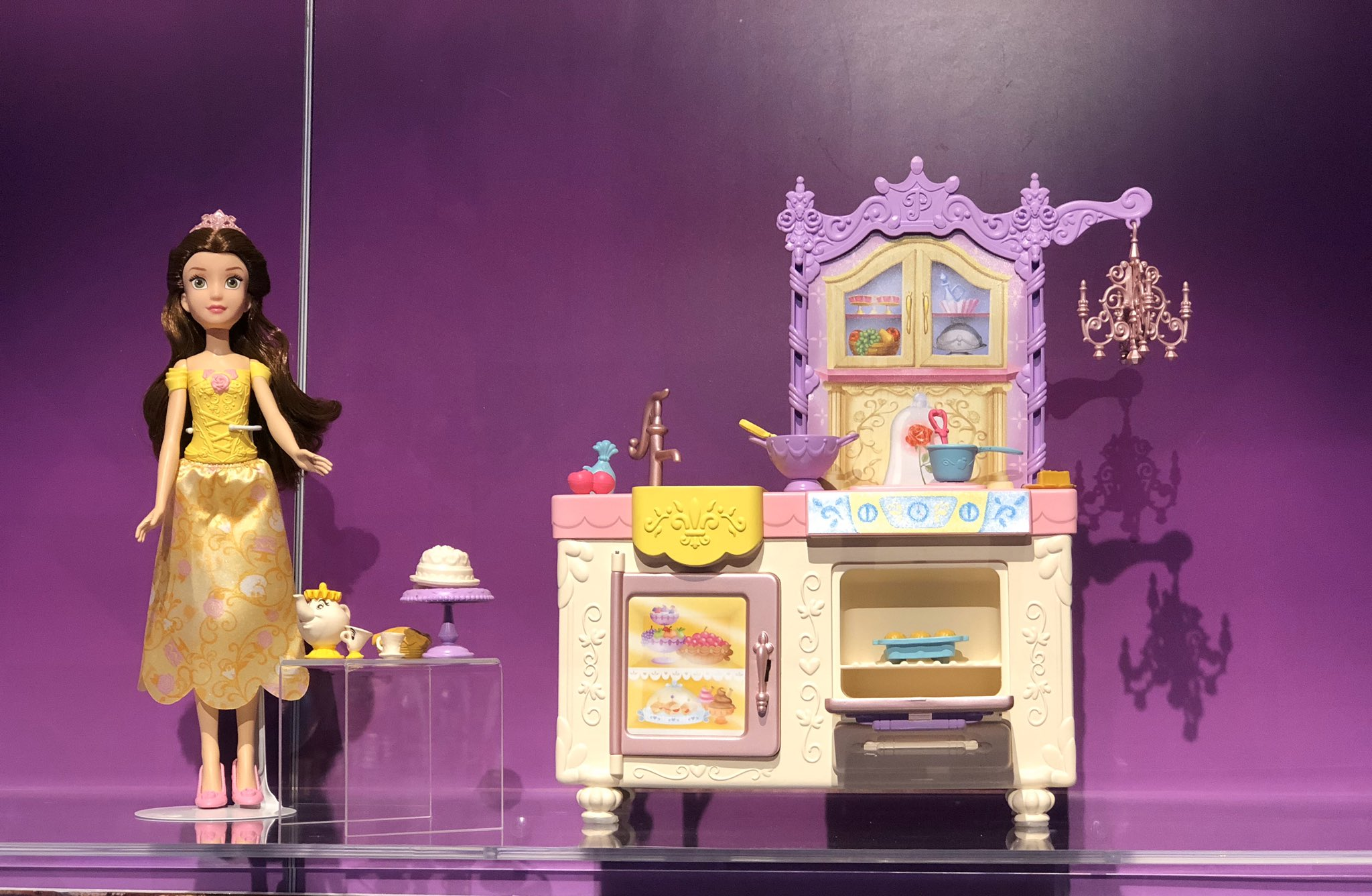 Hasbro On Twitter The Disney Princess Belle S Royal Kitchen Playset Is Complete With Lots Of Fun Kitchen Accessories And More Because Who Doesn T Wear A Tiara When They Cook Hasbrotoyfair Tfny