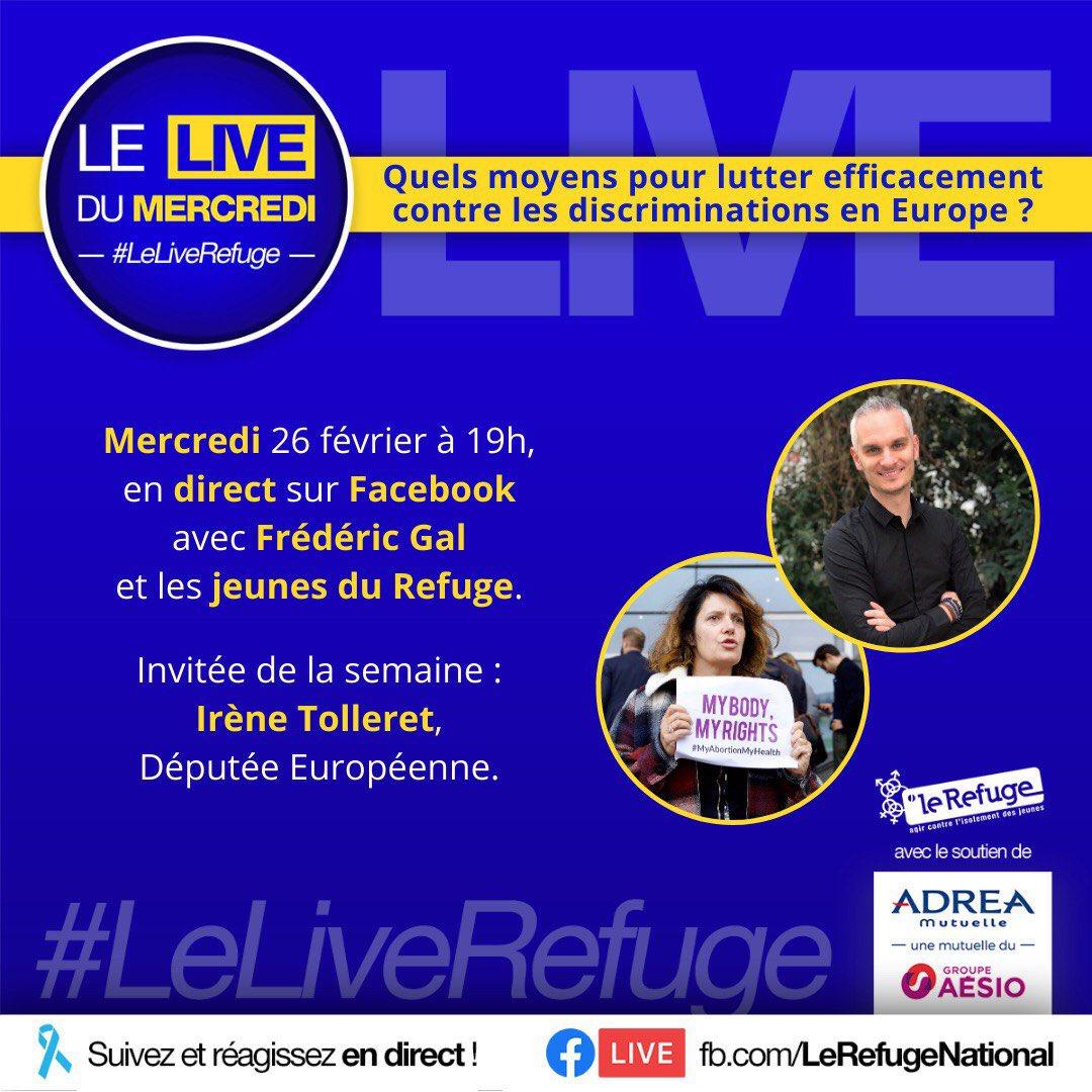Demain à 19:00, en direct sur Facebook Live : Quels moyens pour lutter efficacement contre les discriminations en Europe ? 🇪🇺