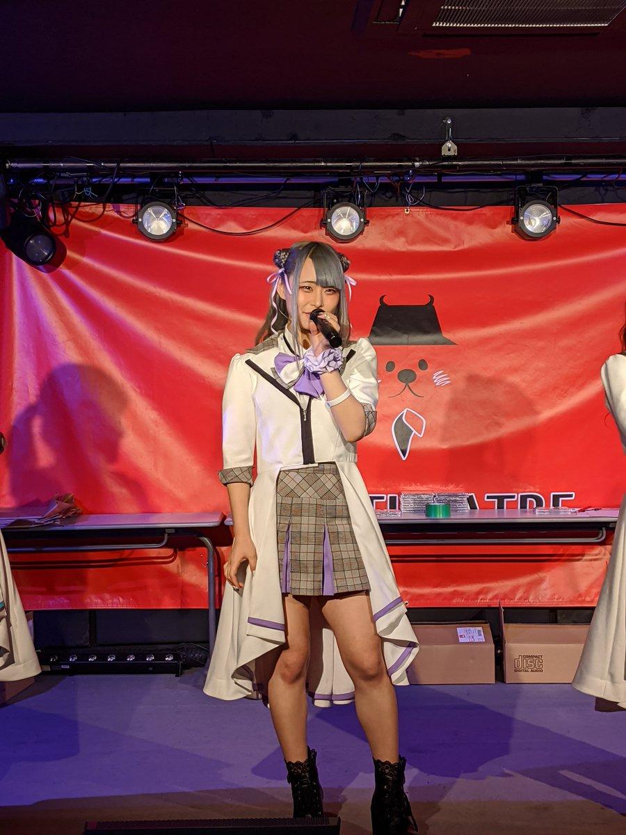 2020年2月25日㈫ WT☆Egret3rdシングルリリースイベント 平日でしたが久しぶりにライブ観れて本当に良かったです😊💞✨ #WT_Egret #篠咲くれは