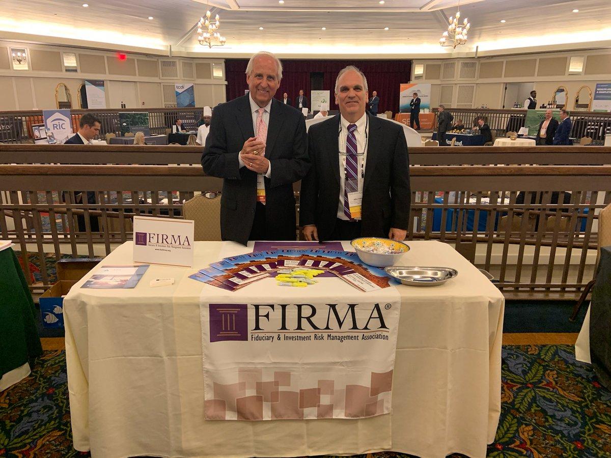 Hale Mast (l) and John Clark (r) at the Trust Advisors Forum in Pinehurst, NC, February 23-26, 2020. <br>http://pic.twitter.com/0acHTWh0VB