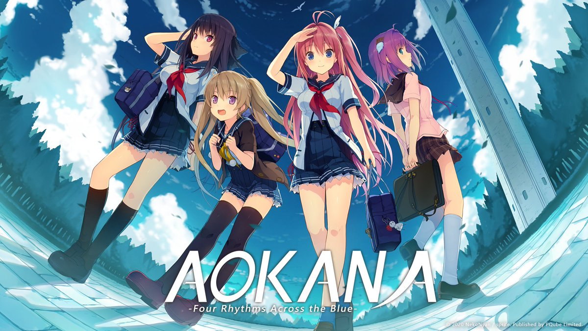PQube and localization team NekoNyan have revealed that Aokana - Four Rhythms Across the Blue will receive a western launch on Nintendo Switch. This visual novel is all about dreams, sports, and love, as well as plenty of anime girls flying through the skies. No set release yet. pic.twitter.com/zvFqjFQ7IZ