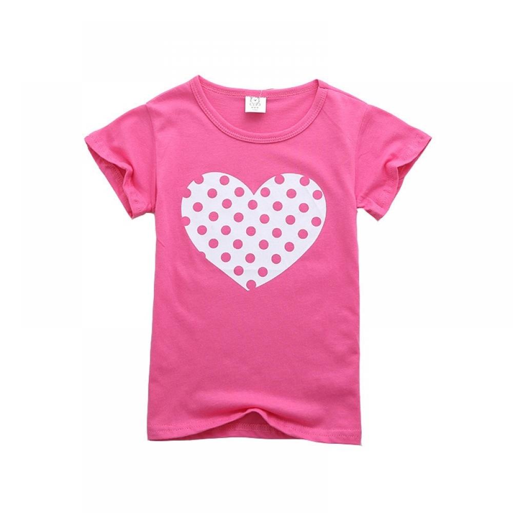 #love #baby #children #family #cute #happy #toys #fun #babyclothing #smile #familymatchingoutfits #babyfashion #kidsfashion #child #babies #tagsforlikes #toddler #picoftheday #boys #girls #babygirls #babyboys Girl's Bright Cotton T-Shirt