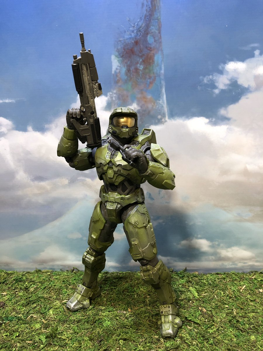 Halo Infinite: Get A Closer Look At The Newly Revealed Action Figures - GameSpot