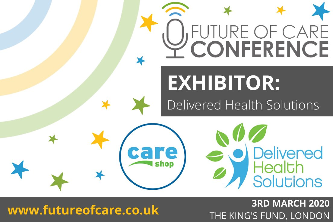 We are delighted to announce that @DhsSol  will be exhibiting with us at Future of Care London on the 3rd March - which is only ONE week away!  Book Now:  http://www.futureofcare.co.uk   #healthcare  #healthsolutions  #care  #health  #careindustry