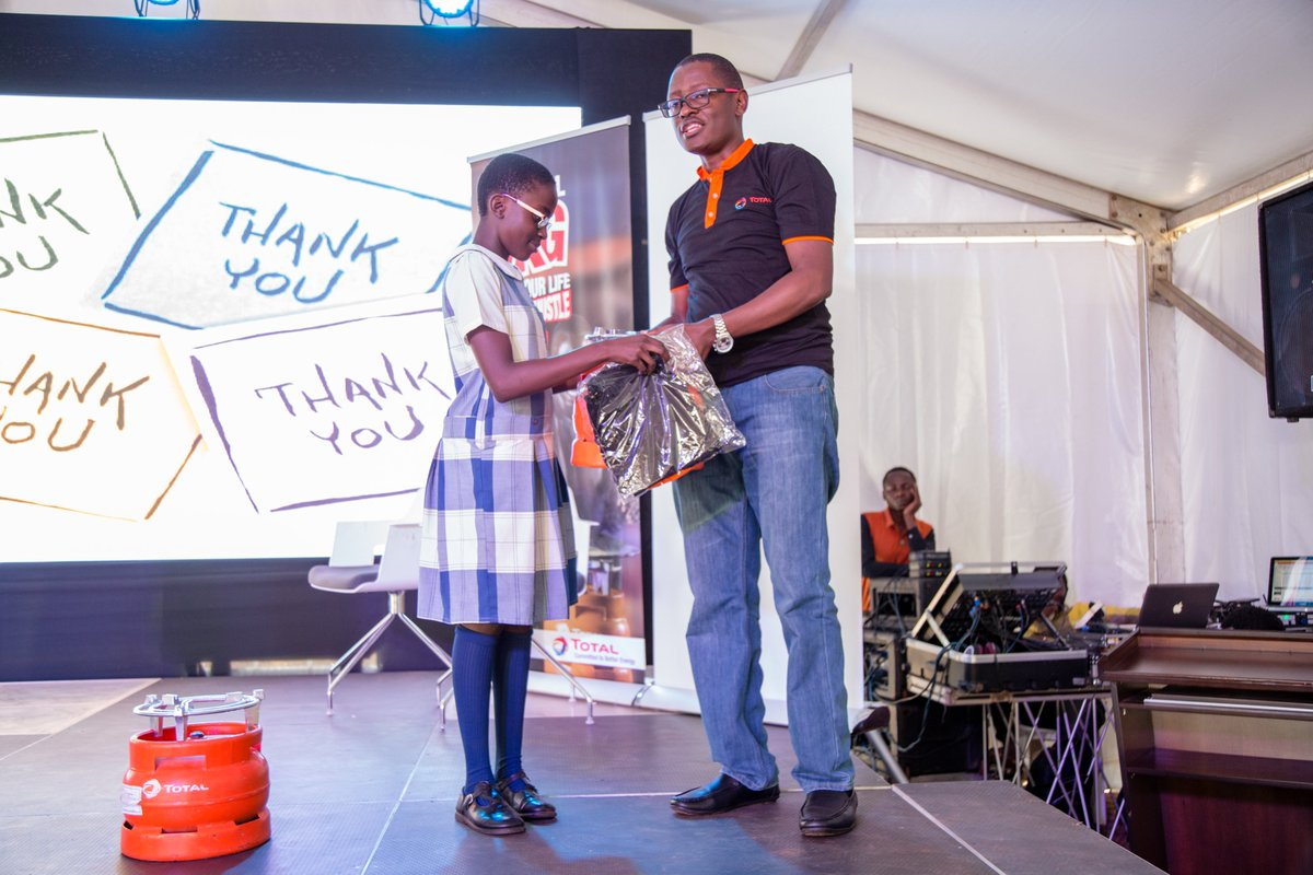 Pupils WIN Total LPG Shirts & 3KG Gas Cylinders at the 20th African Water Association (#AfWA) School Water Clubs event organised by National Water & Sewerage Corporation.We strive to be the RESPONSIBLE ENERGY MAJOR#BetterEnergy #AFWAUg2020 #AFWA2020 #AfWACongress #AfWAKla2020