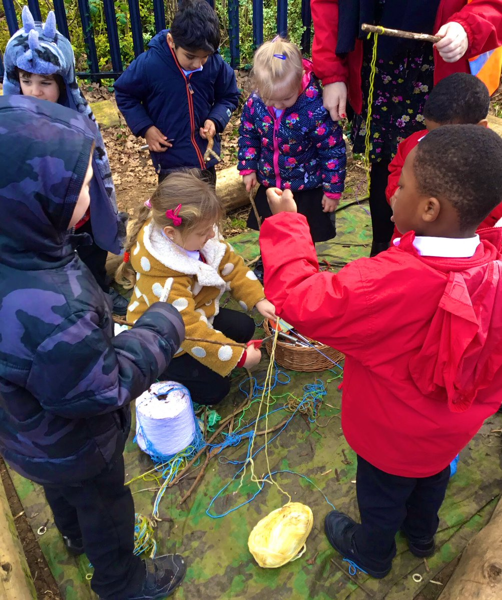 Reception loved their Reward Day treat today in the Forest School roasting marshmallows and making magical sticks. Thank you Lucy and Kelly! @greenfieldsps #rewardday #forestschool 🌲🌿 https://t.co/HzVH14BXJW