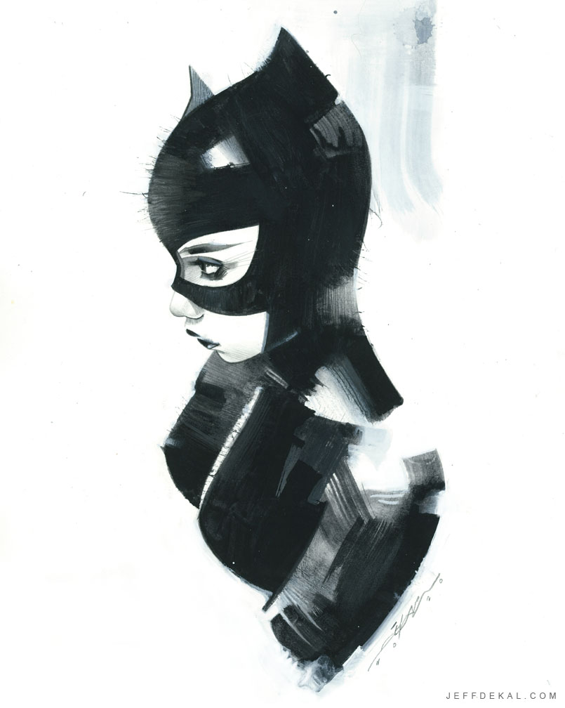 #Catwoman commission for #emereldcitycomicon