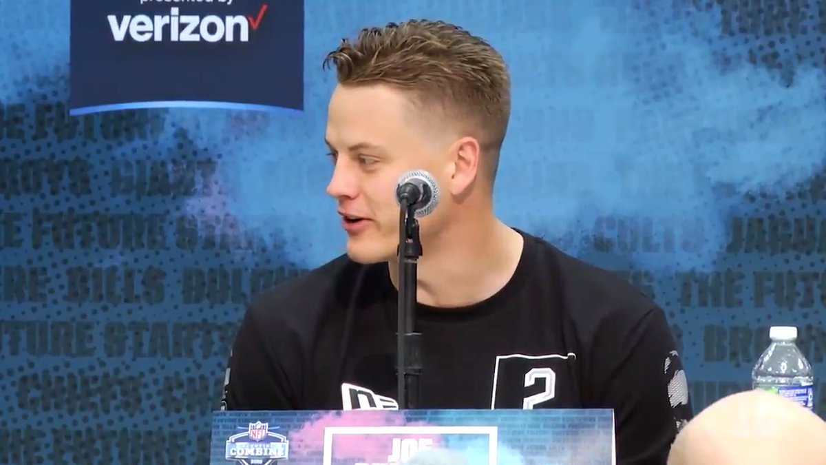 Of course I want to be the first pick. Thats every kids dream.- QB Joe Burrow 📺: 2020 #NFLCombine starts Thursday 4PM ET on @nflnetwork