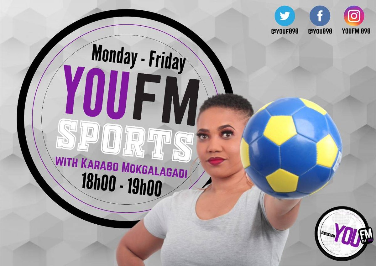 Let @KMokgalagadi bring you extreme and adventurous sports today on #YOUFMSports  IN TUNE WITH YOU  DSTV Channel 842  #CelebratingYOU #YOUInspireUs