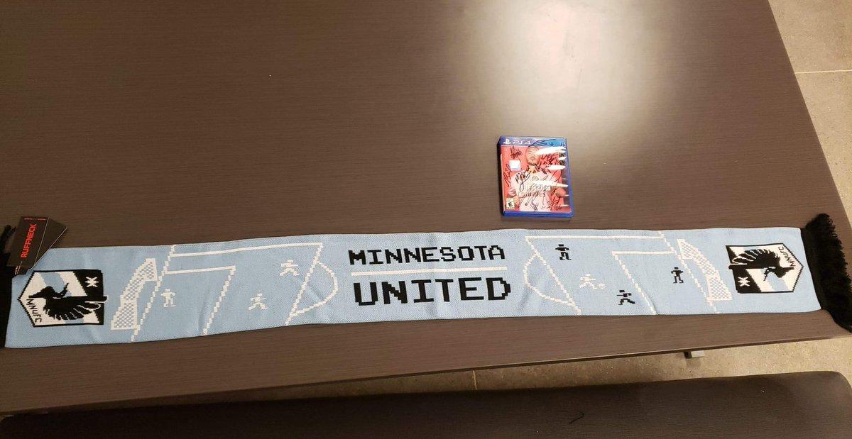 Gonna be hard to have a bad day after picking these up from @MNUFC's front office! 🤩👍