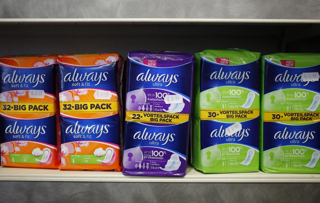 Scotland to approve free sanitary products for all women reut.rs/390weDt