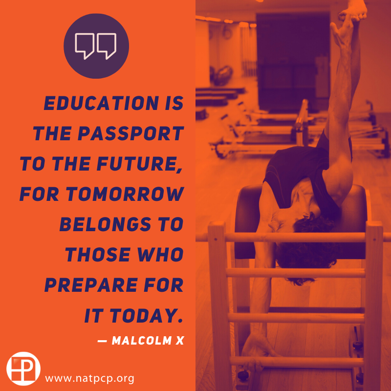#PilatesStudent, becoming a NCPT is an investment on your professional future. Learn more: http://www.natpcp.org  #pilatesprofessional #pilatesschool #pilatesinstructor pic.twitter.com/r80QsKiEdd