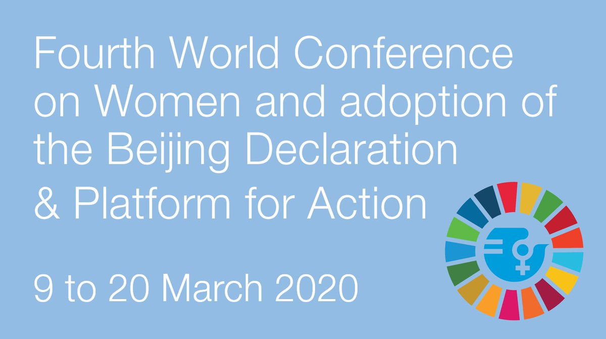 #SaveTheDate This year, the global community will mark the twenty-fifth anniversary of the Fourth World Conference on Women and adoption of the Beijing Declaration and Platform for Action IFAD at #CSW64 ➡️ bit.ly/32wElp1 #IWD2020 #EachforEqual