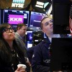 Image for the Tweet beginning: Stocks slip, consumer confidence nudges