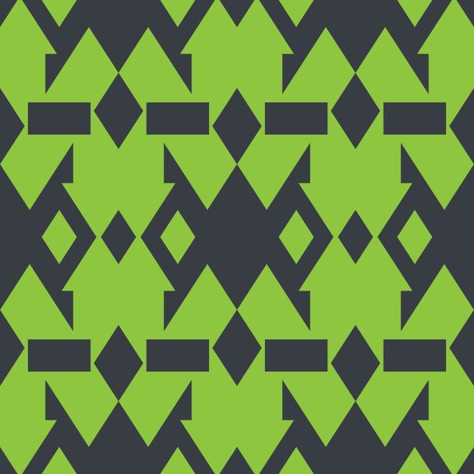 Download Free Pattern - Two Square Free Graphic Design Illustrator Pattern Download