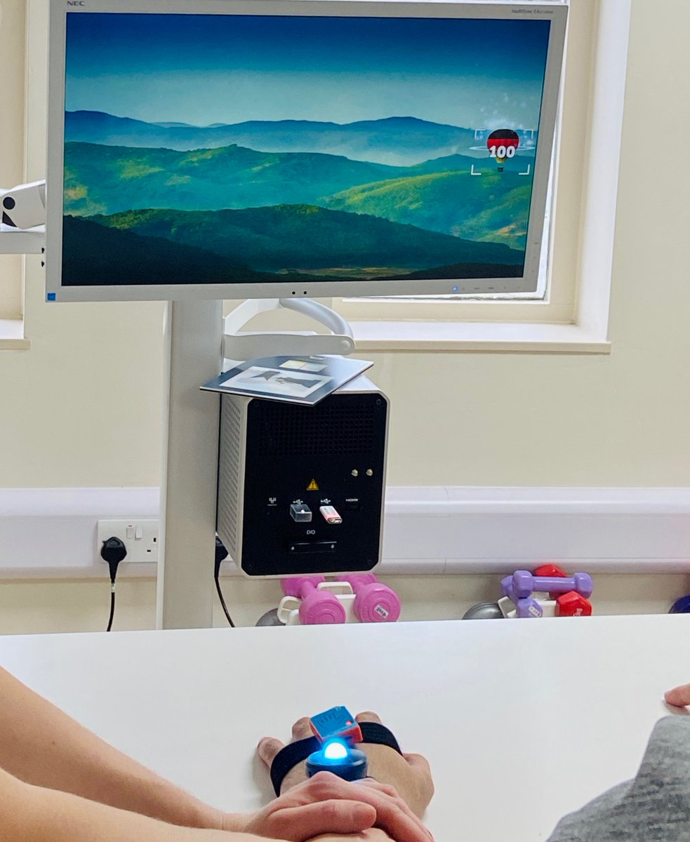 Watching the #MindmotionPRO in action with the fantastic #therapy team at @RoyalBucks #Rehabilitation #occupationaltherapy #physiotherapy https://t.co/p2vGzxquwt