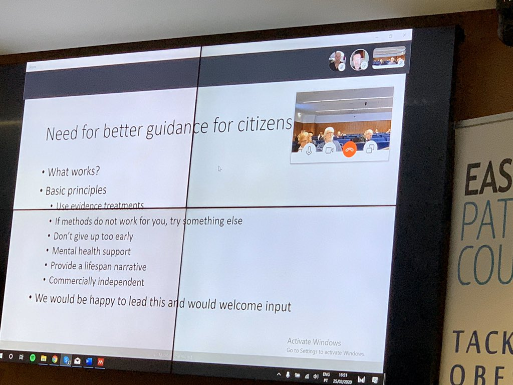 We need to provide better support for citizens which centres around evidence based information and guidance for people on #weightmaintence   3/5 people with #diabetes experience #mentalhealth and emotional problems #EASOCOMs @NoHoWH2020 @EASOobesity #obesitypic.twitter.com/E8sfLIrer1