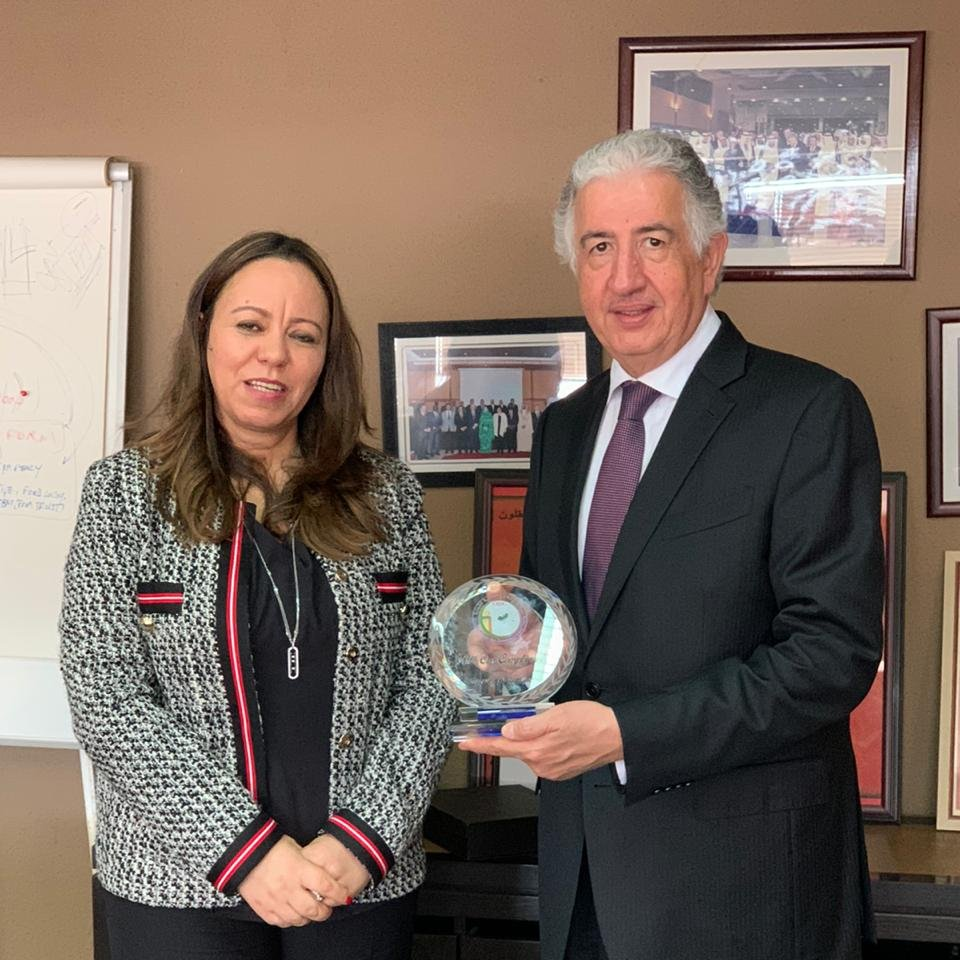 During a high-level visit to #Morocco, ITFC CEO Eng. Hani Salem Sonbol met with the recently appointed GM of @icdt_oic, Mme Latifa Abdellaoui to discuss potential areas for collaboration including capacity building programs and promoting Arab-Africa Trade. #ITFCImpact