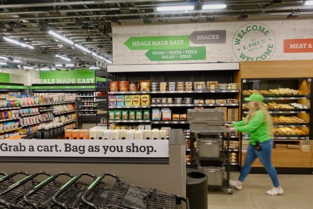 Inside 'Amazon Go Grocery': Tech giant opens first full-sized store without cashiers or checkout lines - GeekWire