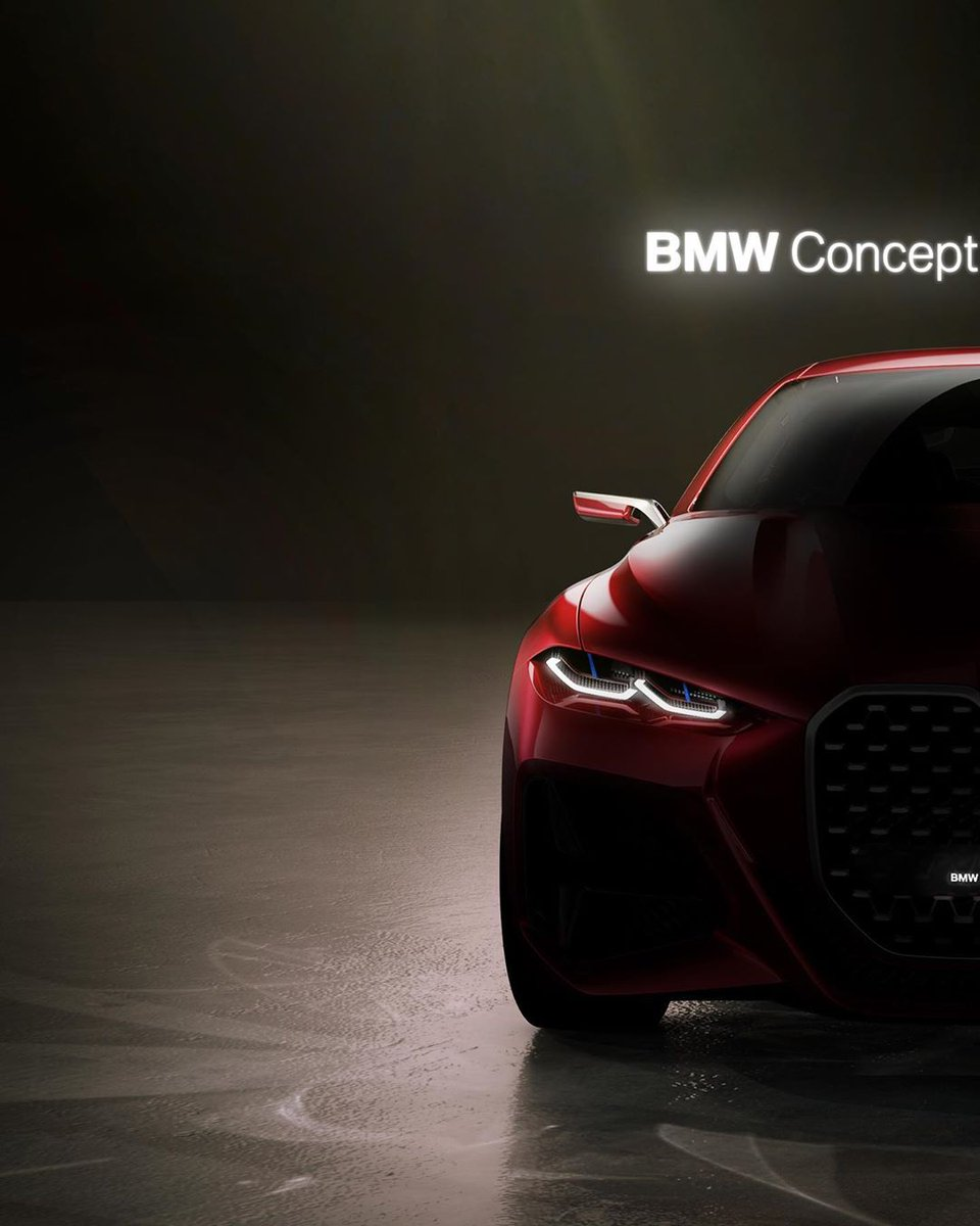 Deserving of the instant right swipe 🔥 The BMW Concept 4. #THE4 #BMW #Concept4 #4Series