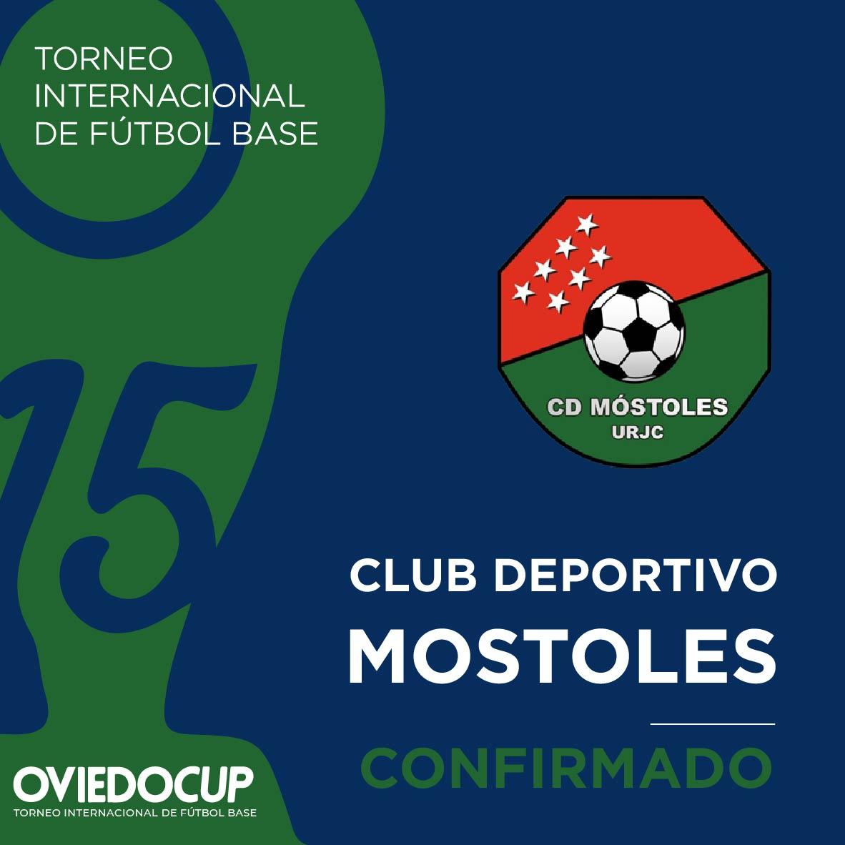   EQUIPO CONFIRMADO  ¡¡Otro año más, el club madrileño estará presente en la #OviedoCup2020!! @CDMostoles  #TorneoInternacional #FútboBase #OviedoCup #XVEdición #SemanaSantapic.twitter.com/bS6Dskvaql