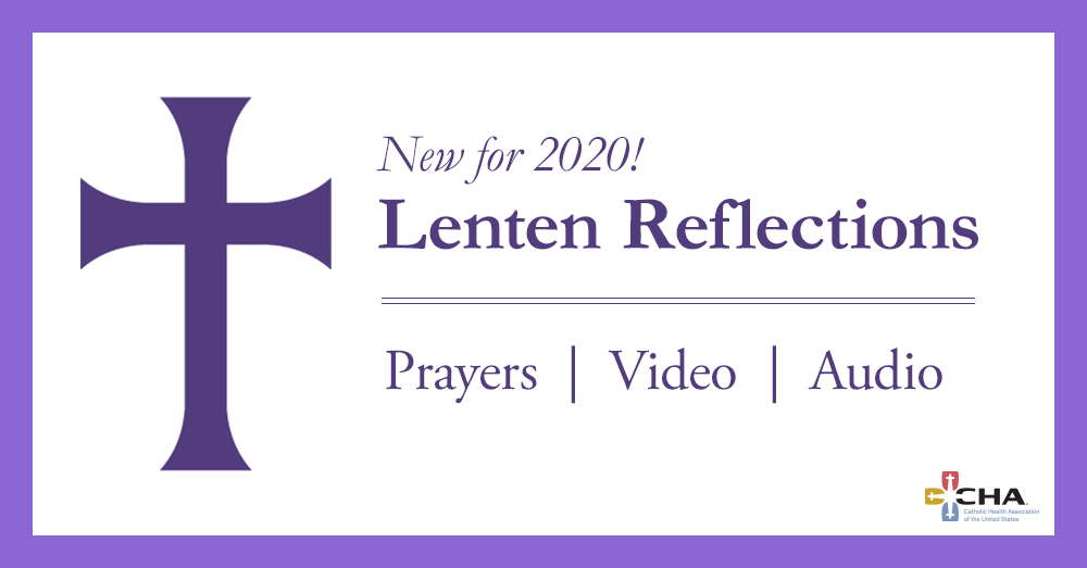 CHA is sharing our annual series of Lent and Easter reflections for your use starting with #AshWednesday tomorrow. The resources include booklets, audio and video that we hope you'll share with others in the #CatholicHealth ministry. https://www.chausa.org/prayers/lent-reflections … #Lent #Easter