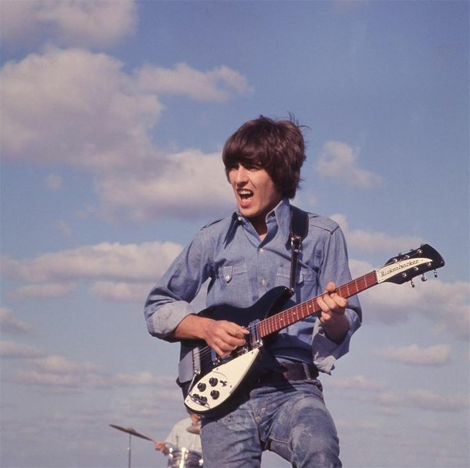 Happy birthday, george harrison. the beatle would have been 77 today