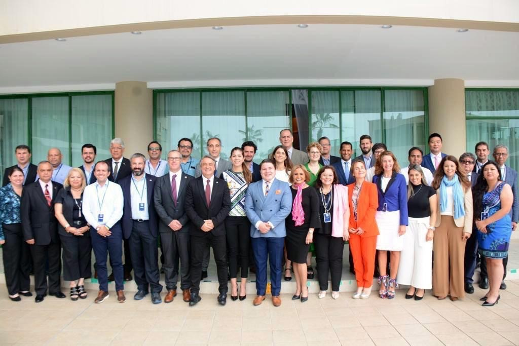 WADA's Latin America Regional Office Director @mariajosepesce attended the Ibero-American Council of Sport General Assembly in Ecuador this week 🇪🇨  #Sports Ministers from Spain, Portugal and 20 Spanish-speaking countries were in attendance.  #PlayTrue #CleanSport #JuegoLimpio