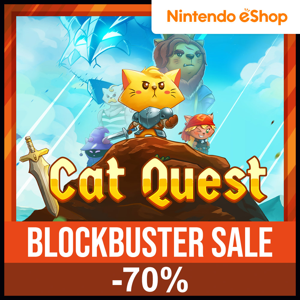 If you've not seen it yet, we've got a big #NintendoSwitch #eShop sale going on right now in Europe and North America, with up to 70% off on some of our greatest Switch titles: #CatQuest, #SongbirdSymphony, #Aggelos, #STAY and more! Ends on March 1st so go check it out!pic.twitter.com/bAdmOgS6aS