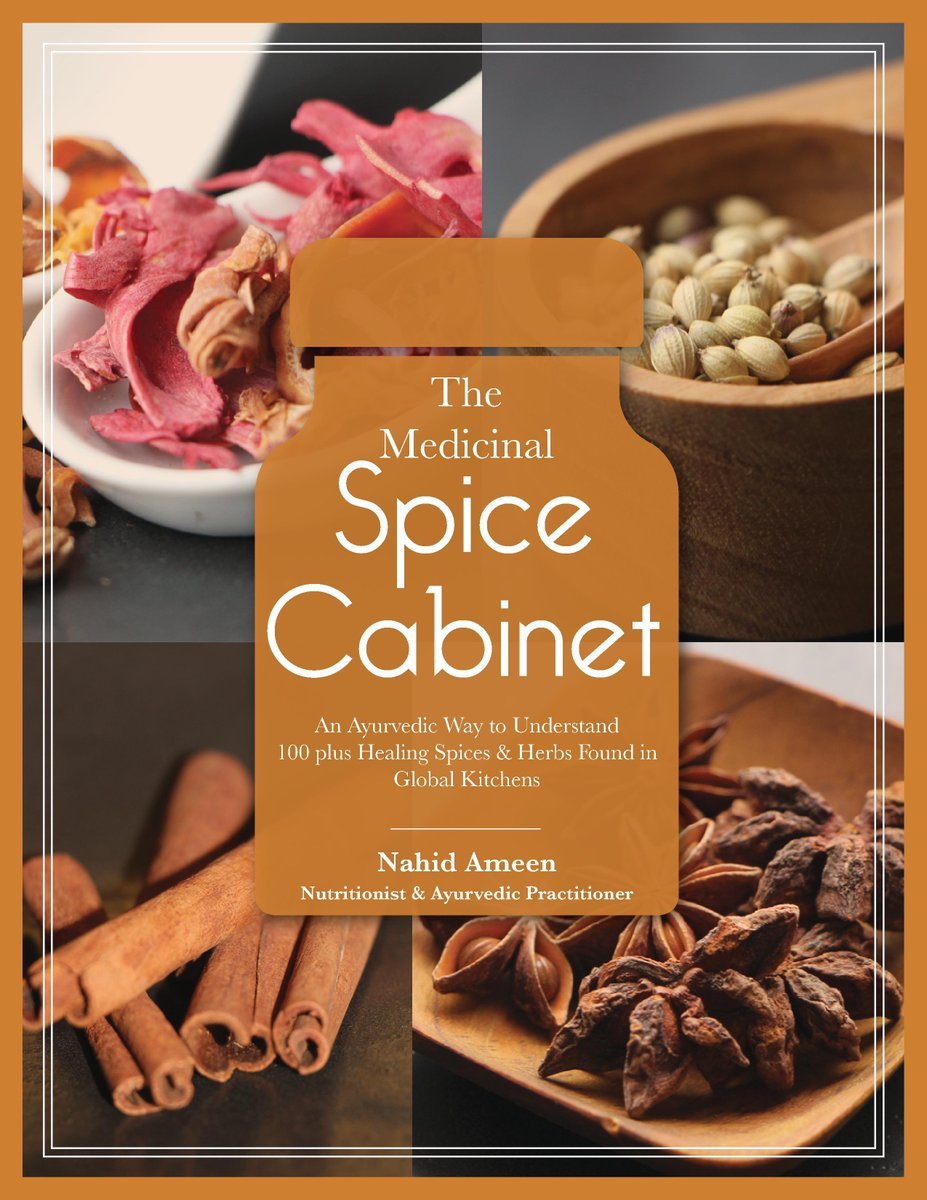 """Do you want to discover how #culinary #spices are used as #food AND #medicine in many #cultures? My new e-book """"Medicinal Spice Cabinet"""" describes everything in detail. #eBooks"""