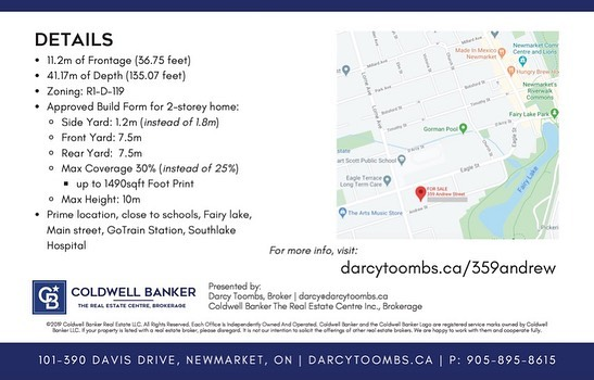 test Twitter Media - #Newmarket Building Lot FOR SALE⠀ Asking $575,000⠀ - 11.2m of Frontage (36.75 feet)⠀ - 41.17m of Depth (135.07 feet)⠀ - Zoning: R1-D-119⠀ - Approved Build Form for 2-storey home:⠀ - Side Yard: 1.2m…  📸 https://t.co/k68hMFxAX3 via https://t.co/jdraJREKlb https://t.co/Mf4eAo6NYk