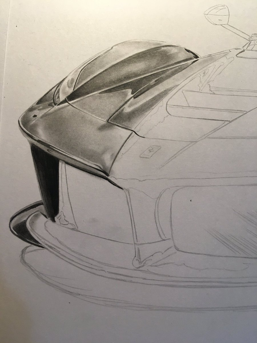 The beginnings of my first @Ferrari LaFerrari drawing. This one is going to raise funds for charity - more on that at a later date.   #ngautoart #supercardriver #artist #ferrari #laferrari #drawing #cardrawing #art #pencilart #supercar #hypercar