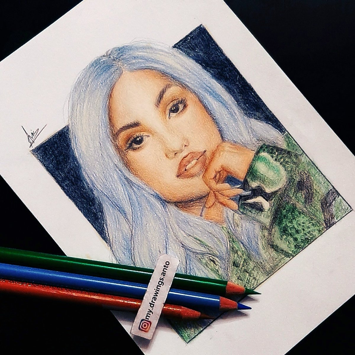 Only a few hours left until we can listen to @Mabel's new song, #boyfriend! 🎶 Who's excited? 🙋🏽‍♀️🙋🏽‍♀️🙋🏽‍♀️  Check out my drawing of Mabel! 🎨 I hope you like it! ❤  #Mabel #FanArt #Drawing
