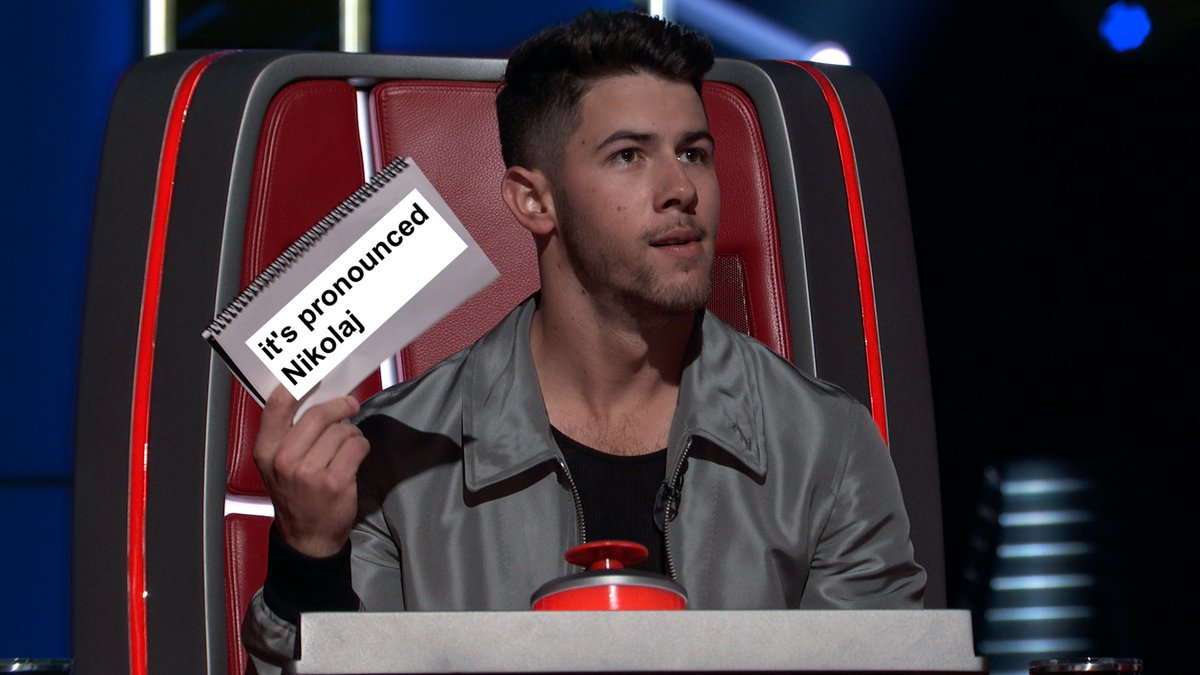 @NBCTheVoice Don't know who needs to hear this, but.