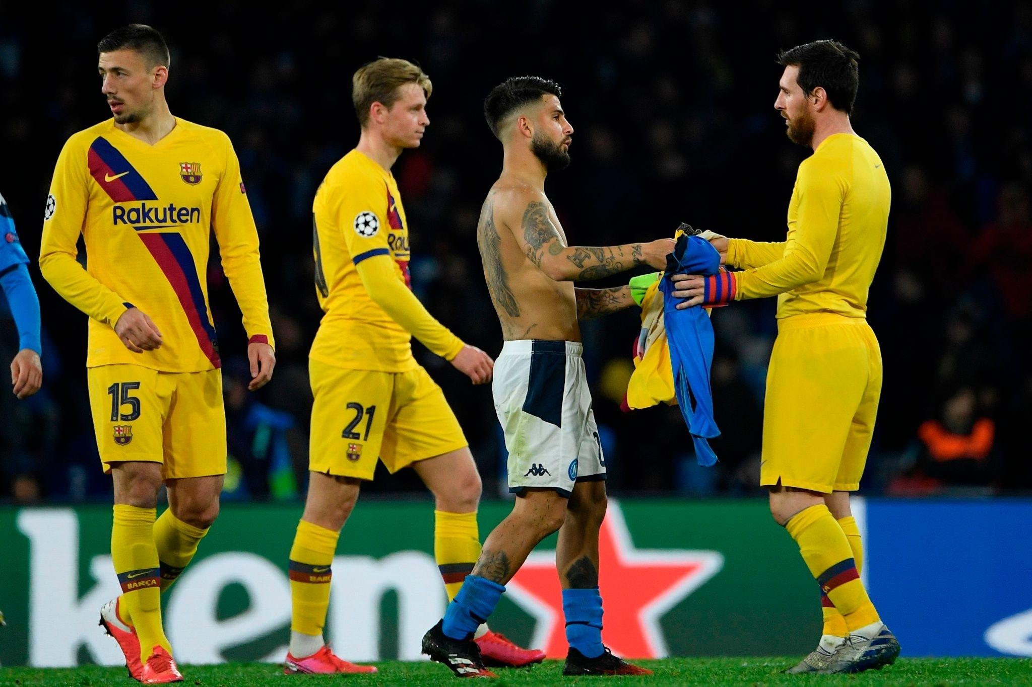 Наполі - Барселона 1:1. Задовольнятися малим - изображение 1