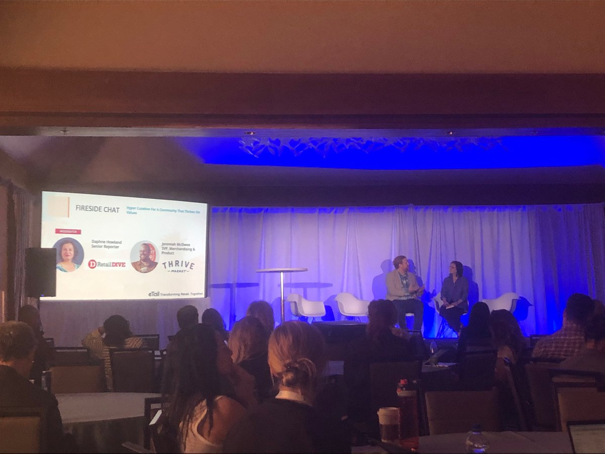 @thrivemarket seeks to solve product voids in the #food market with its own private label, which accounts for about 10% of sales,  Jeremiah McElwee, SVP, merchandising, tells @RetailDive's @daphnehowland at @eTailNews #retail #food #Grocery @growwithco