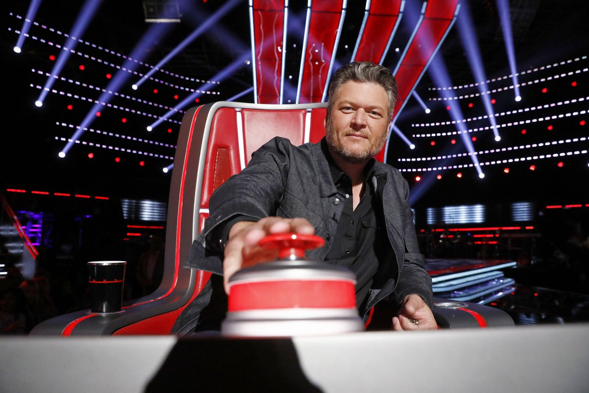 Only one more hour until @NBCTheVoice! Who's watching? #voicepremiere  #teamblake<br>http://pic.twitter.com/bfo98TCNwd