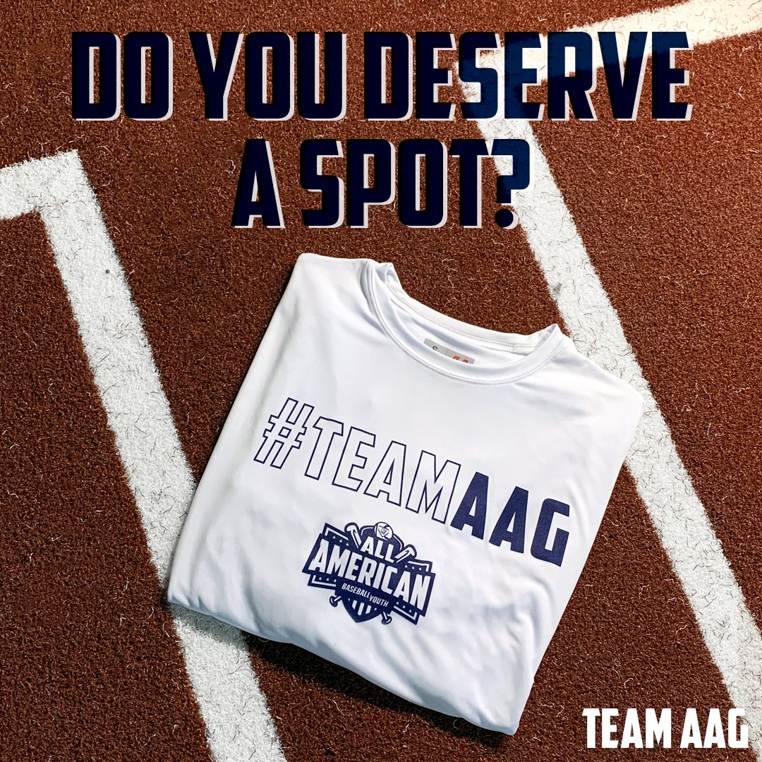 Know someone who has what it takes to earn a spot on our roster?   Register by 3/13 and receive a free #TeamAAG shirt http://bit.ly/2Vtfhhnpic.twitter.com/9roYl2H4Pm