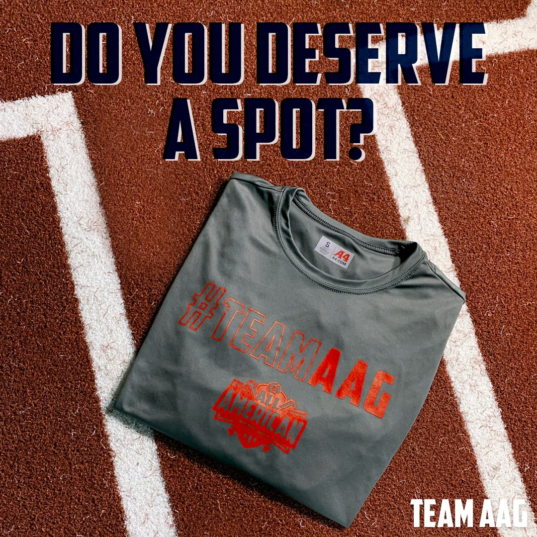Know someone who has what it takes to earn a spot on our roster?   Register by 3/13 and receive a free #TeamAAG shirt http://bit.ly/37Ztwx1pic.twitter.com/ufM8GYffng