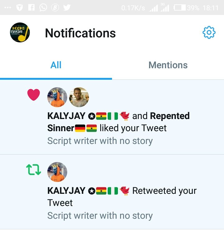 As @gyaigyimii like and retweet my tweet then you guys should be ready for the best story from UEW written by all the artists from Ghana this season pic.twitter.com/2sOlq7evwG