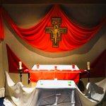 Image for the Tweet beginning: Edmonton vocation weekend featured Taizé