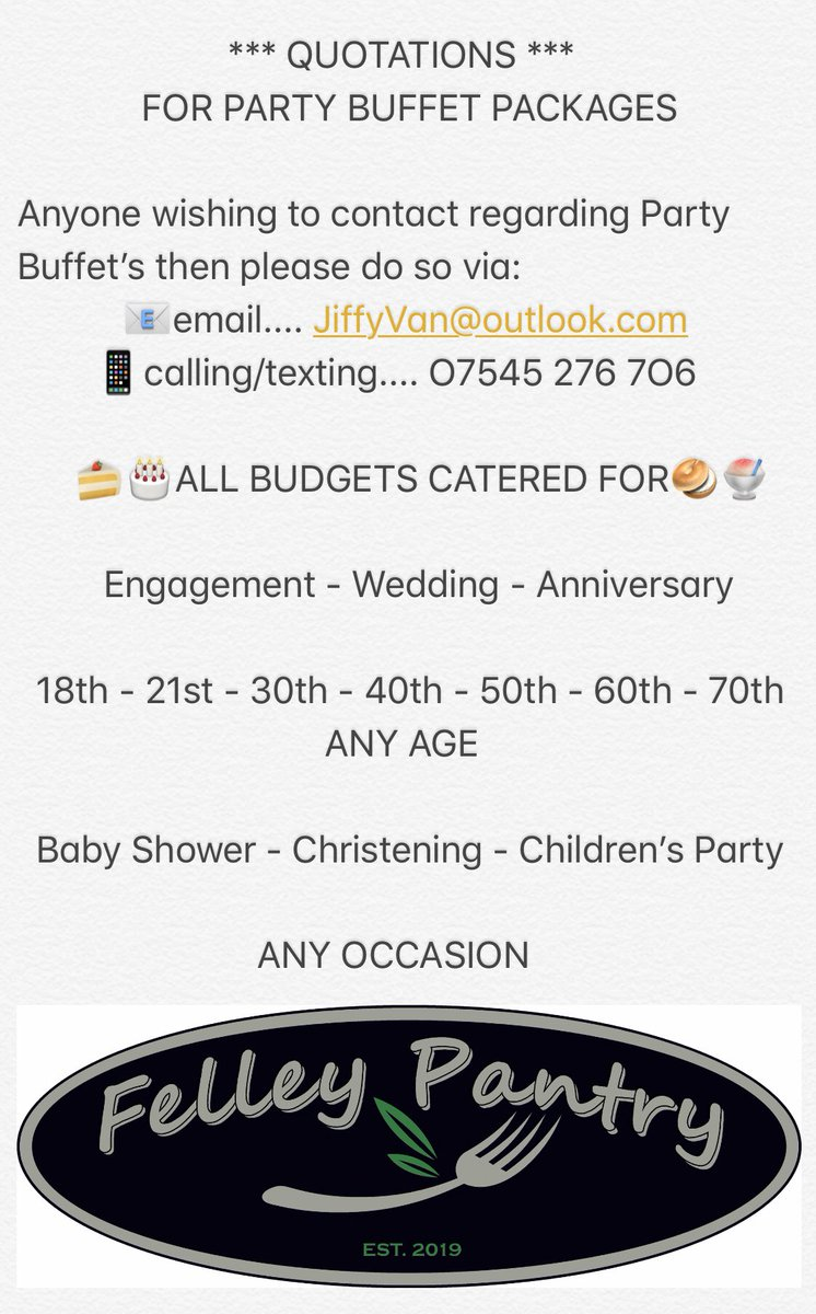 Party Buffet's  #Engagement #Wedding #Anniversary #18th #21st #30th #40th #50th #60th #70th #BabyShower #PromParty  #Ashfield #Nottingham #Mansfield #Nottinghamshire #Notts #NG15 #NG16 #NG17 #HotFood #ColdFood