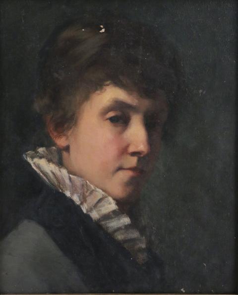 L'autoportrait de Maria Wiik en 1886 coiffe à 43.200 € son autre portrait de Marietta lors d'enchères à Vendôme ce 25 février et remporte la palme du tableau de l'artiste le plus cher de l'artiste en dehors de Finlande. Il rejoint les collections du @NatMus_SWE #WomenArtist pic.twitter.com/0soLHmhLkZ
