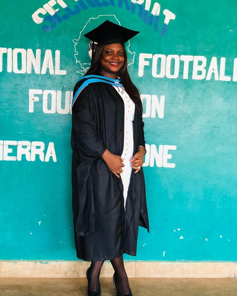 #GESL hopes you'll join us in welcoming our new Programs Manager Lindsay Sesay, and also wishing her CONGRATULATIONS on her graduation this weekend with a Master's in Development Studies!  Welcome to the team, Lindsay! We look forward to working with you!  #girls #Empowerment