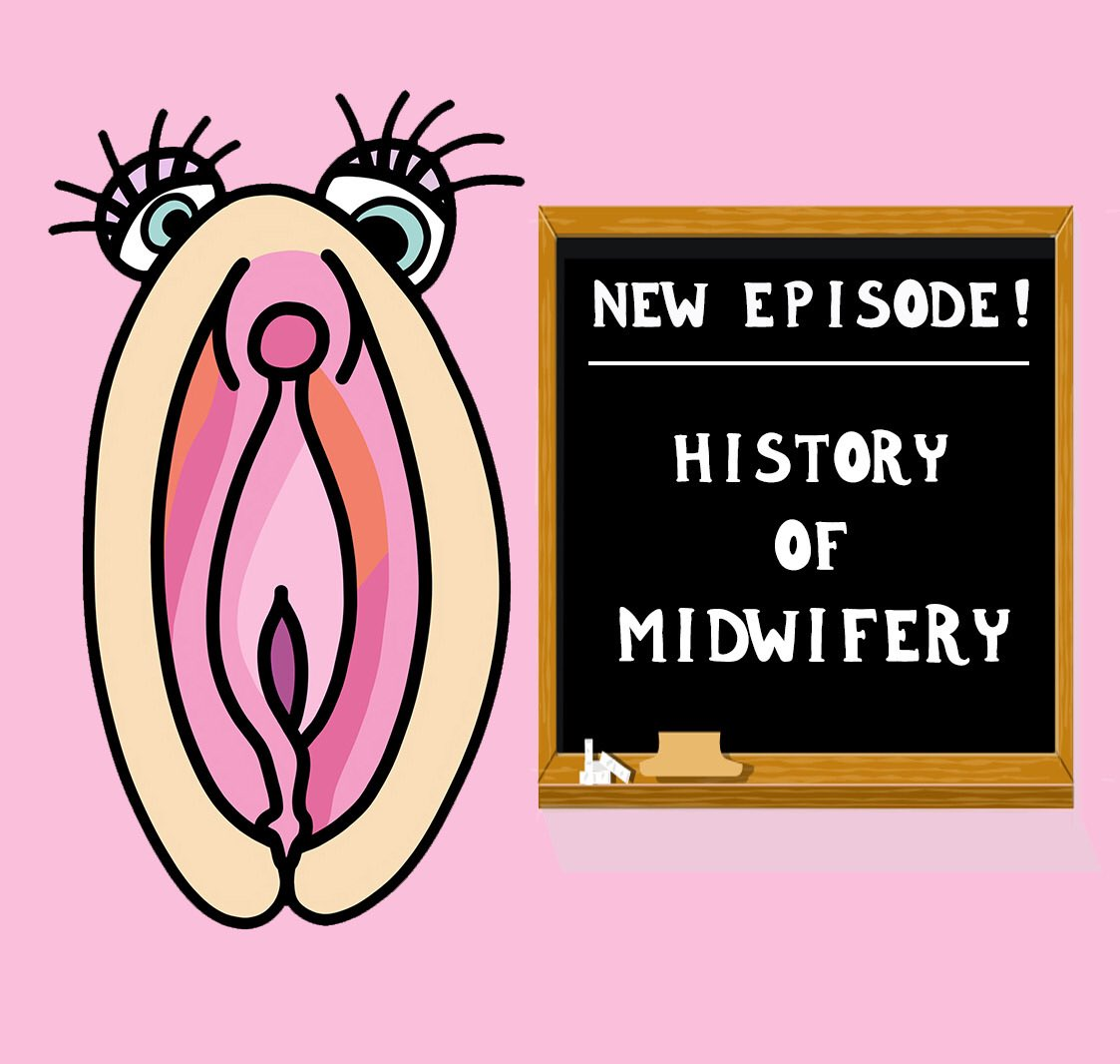 NEW EPISODE This time we talk about the history of midwifery here in the U.S. As with so much of our history, there are a lot of race, class and gender components to this story. Want to know more? LINK IN BIOAnd be sure to check out our episode notes for some more resources. pic.twitter.com/aEzf4yJgCc