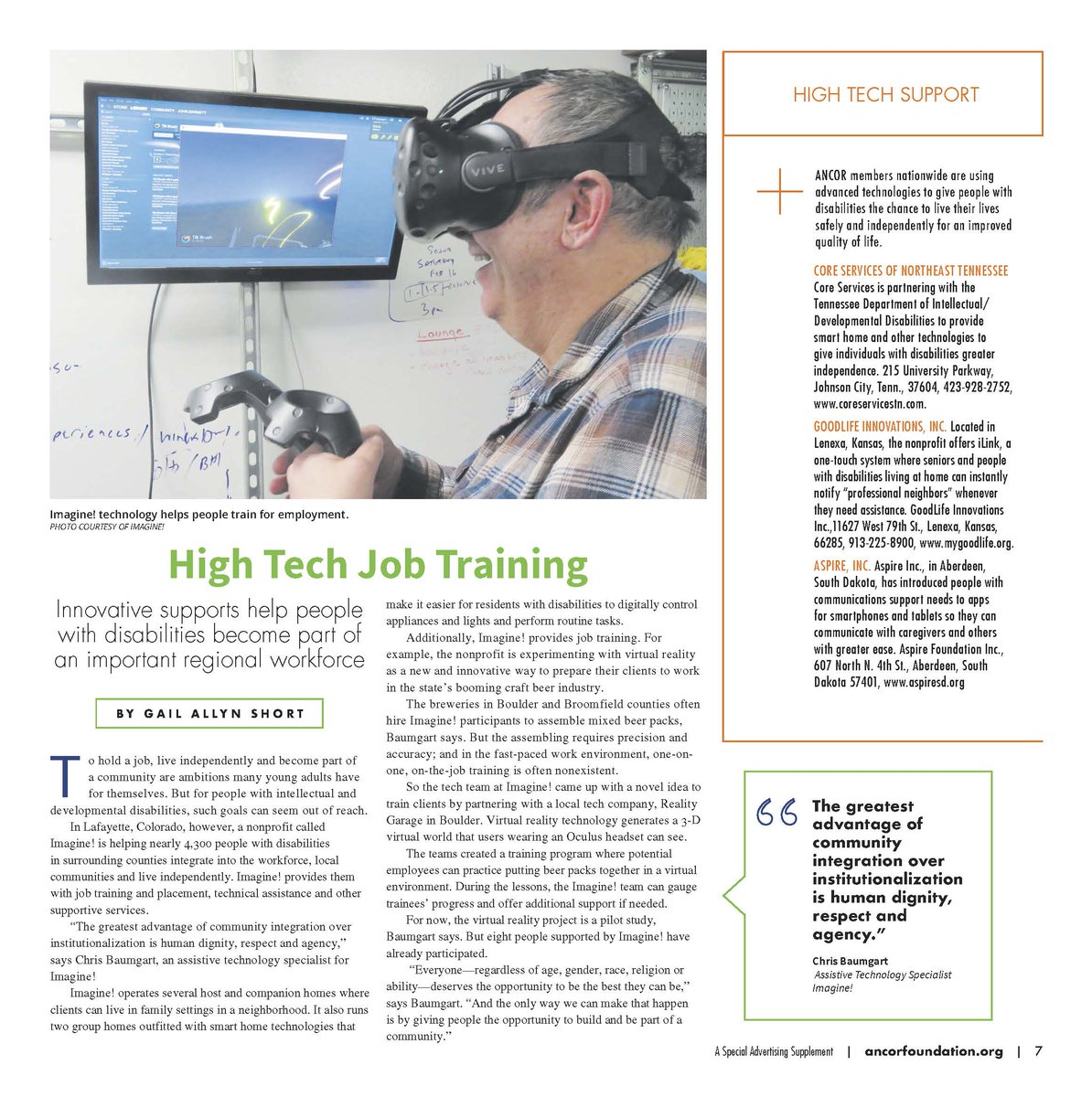 #TechnologyTuesday. Check out the latest @TheRealANCOR special Included. Supported. Empowered. publication, which features Imagine! and how we use technology to help people find meaningful employment. http://wehaveastake.org/2020/02/included-supported-empowered-flipbook/… @WeHaveAStakepic.twitter.com/cPYOLGM5vN