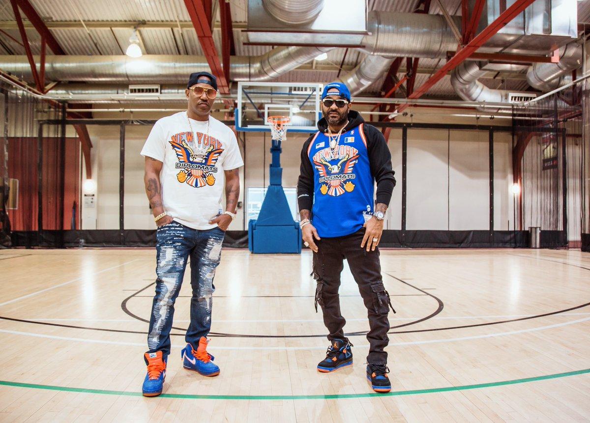 👀 Stay Tuned... #Dipset #NBAStoreNYC