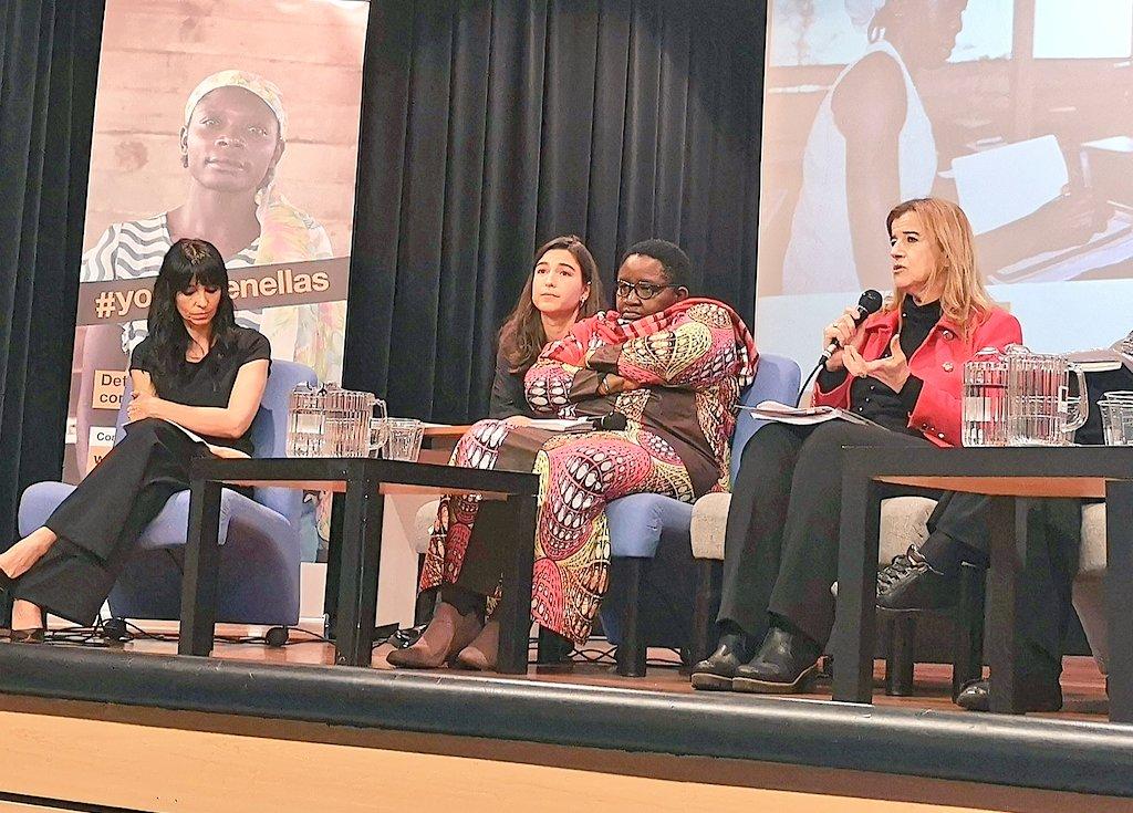 No olvidemos la capacidad de resistencia, la resiliencia de las mujeres africanas. Son tremendamente fuertes, solo hay que darles la oportunidad que merecen. #YoCreoEnEllas #NikZuekinBatpic.twitter.com/p9dfS7Dr1g