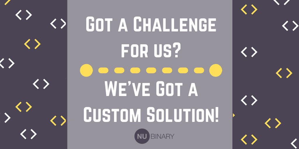 Have a fantastic #app or #software idea but not sure how to develop it? We can help! From #backend development to #frontend and  #grant research we've got all your needs covered! Contact us today http://www.nubinary.com   #NuBinary  #techstartup #uiux  #prototypingpic.twitter.com/18ixOGAO7d